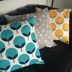 The lounge cushions I made