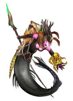 New Fantasy, Fantasy Races, Fantasy World, Dark Fantasy, Fantasy Creatures, Mythical Creatures, Sea Creatures, Scary Mermaid, Mermaid Art