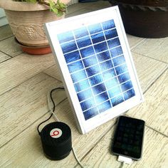 DIY Portable USB Solar Charger ($20 - 4 Ports) - http://www.instructables.com/id/DIY-Portable-USB-Solar-Charger-20-4-Ports/