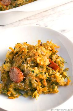 Garden vegetable and brown rice casserole recipe