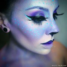 Trendy makeup artist fantasy special effects ideas Maquillaje Halloween, Halloween Makeup, Halloween Horror, Halloween 2016, Halloween Costumes, Cosplay Makeup, Costume Makeup, Makeup Art, Beauty Makeup