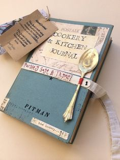 A cookery and kitchen Journal Does not link to anything but inspiration enough for a recipe journal