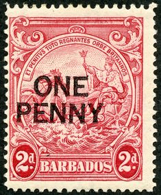 Barbados 1947 King Surcharged SG 264 used SG 264 Scott 209 Other British Commonwealth Stamps for sale Here Stamp World, Windward Islands, Stamp Dealers, Buy Stamps, Commonwealth, Barbados, Postage Stamps, Red Roses, British