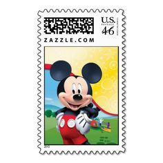 Playhouse Mickey Stamp