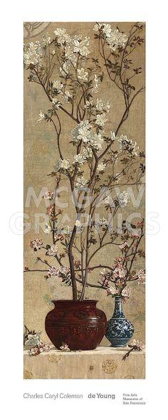 Azaleas and Apple Blossoms, 1879