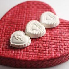 ... DIY Valentine Sachets, using plaster of paris, and essential oils More