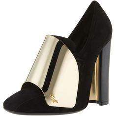 Yves Saint Laurent Cardinal Loafer Pump (=)