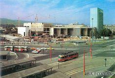 Stavba DPOH na Trnavskom mýte
