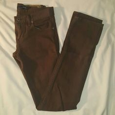 Ralph Lauren Jeans Ralph Lauren chocolate brown denim jeans, Madison cut Ralph Lauren Jeans Straight Leg