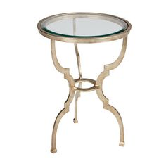 A curvaceous beauty, the Belle table in antiqued, shimmery gold or silver tones is a dramatic chairside companion. Daring yet darling, a personality-packed accent table is the perfect way to punctuate a room.