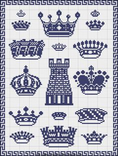 Free Easy Cross, Pattern Maker, PCStitch Charts + Free Historic Old Pattern Books: Sajou No 290 Cross Stitch Samplers, Cross Stitch Charts, Cross Stitch Designs, Cross Stitching, Cross Stitch Patterns, Diy Embroidery, Cross Stitch Embroidery, Embroidery Patterns, Easy Cross