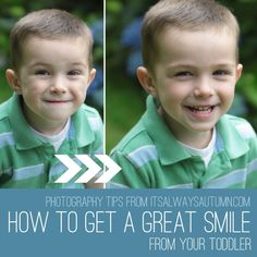 photography tips: how to get a great smile from your toddler or preschooler - It's Always Autumn #photography #portraits #phototips