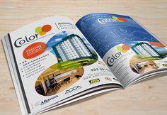 #DiseñoGráfico #Pauta #Publicación #Revista Página y media pagína