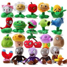 Plants vs Zombies Soft Plush Toys Game Plants vs Zombies Stuffed Plush Toy Doll for Children Gifts Party Toys Pet Toys, Baby Toys, Kids Toys, Toddler Toys, Zombie Serie, Plants Vs Zombies Plush, Plush Dolls, Doll Toys, Barbie Dolls