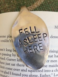fell asleep here {bookmark}