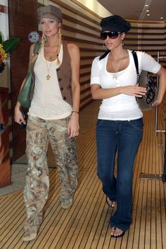 d0d8d929424 kim kardashian paris hilton fashion trends 00s vests camo Kendall Jenner  Dress, 2000s Fashion Trends