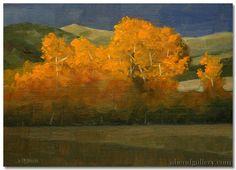 "John Roush | ""Gore Range Shadows"" | Oil, 6 x 8"""
