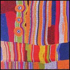 art aborigene contemporain - Recherche Google Aboriginal Painting, Aboriginal Artists, Dot Painting, Indigenous Australian Art, Circle Quilts, African Masks, Art Plastique, Tribal Art, Rug Hooking
