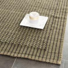 @Overstock - An elegant contemporary loop design and a jute pile highlight this handmade rug. This rug has a green background and displays stunning panel colors of green and charcoal grey.http://www.overstock.com/Home-Garden/Handwoven-Loop-Jute-Green-Rug-8-x-10/6458279/product.html?CID=214117 $285.99