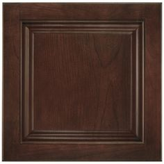 Shenandoah Orchard 14 5625 In X 14 5 In Bordeaux Cherry Raised Panel Cabinet Sample