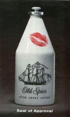 Old Spice after shave lotion xD