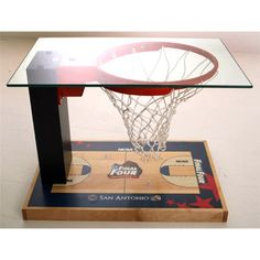 Sports Cave Essentials. Final Four Coffee Table