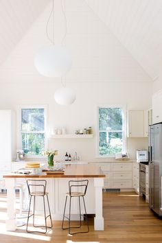 bright light kitchen