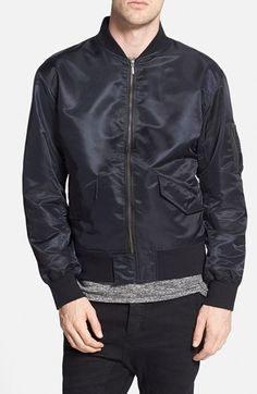 ZANEROBE Military Bomber Jacket available at #Nordstrom