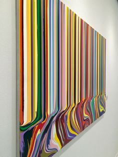 Ian davenport - british contemporary artist diy ideas in 2019 абстрактная ж Art Therapy Projects, Art Projects, Abstract Art Images, Deco Font, Art Journal Techniques, Interior Rugs, Easy Watercolor, Diy Canvas, Art Lessons