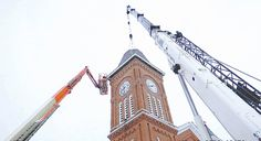 'Old First' steeple doubles as cell tower
