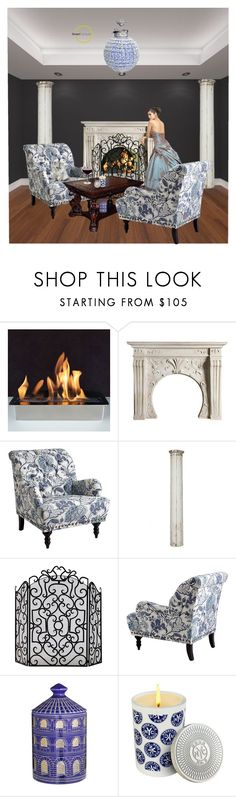 """Elegant Smart Furniture"" by vanaynayreed ❤ liked on Polyvore featuring interior, interiors, interior design, home, home decor, interior decorating, Pier 1 Imports, Aidan Gray, OKA and Fornasetti"