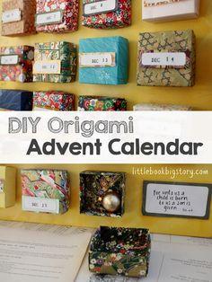 Origami Advent Calendar (Little Book, Big Story).