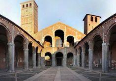 Basilica of Sant'Ambrogio, Milan, Italy