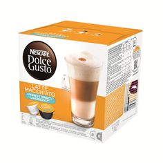 Nescafé Dolce Gusto Latte Macchiato Unsweetened  www.KoffiePiraat.NL