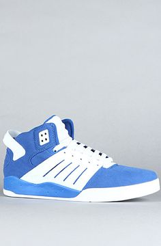 $73 #Supra The #Skytop III in Royal Blue and White #sneakerheads - Use repcode SMARTCANUCKS for 10% off on #PLNDR - http://www.lovekarmaloop.com