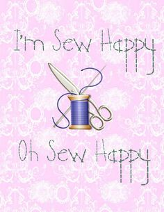 Get Your Crap Together: I'm Sew Happy Printable