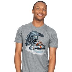 Jurassic Hoth T-Shirt by Obivian at RiptApparel.com