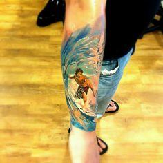 Radu Rasu * awesome surfing tattoo