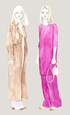 The Row, Resort 2013 by Teri Chung ♥