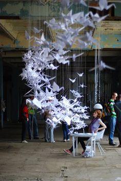Origami, l'art du pliage   La déco de Félicie - CotéMaison