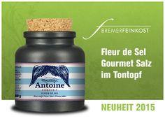 Fleur de Sel Gourmet Salz im Tontopf +++ NEUHEIT 2015 von Bremer Feinkost