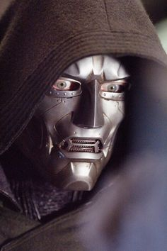 """Victor von Doom (Julian McMahon, Fantastic Four) - """"Do you really think fate turned us into gods so we could refuse these gifts? Julian Mcmahon, Movie Characters, Marvel Characters, Fantastic 4 Movie, Victor Von Doom, Marvel Dc, Marvel Comics, Horror Masks, Arte Robot"""