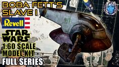 Boba Fett's Slave I | Revell Star Wars 1:60 Scale Model Kit I Full Series Star Wars Boba Fett, Scale Models, Kit, Stars, Crafts, Crafting, Diy Crafts, Craft, Arts And Crafts