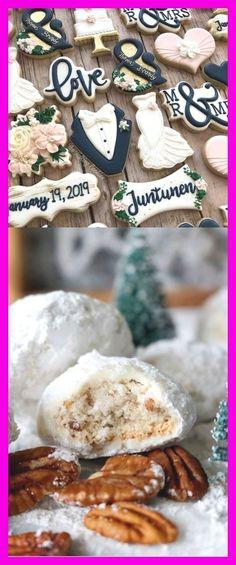 Mexican Wedding Cookies Snowball Cookies Sour Cream Sugar Cookies, Almond Cookies, Jenny Thompson, Mexican Wedding Cookies, Russian Tea Cake, Snowball Cookies, Buttery Cookies, Tea Cakes, Wedding Videos