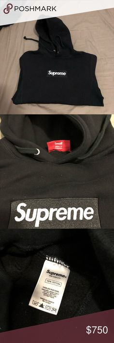 da09d6065200 Supreme Bogo Hoodie Black Small hoodie Selling as is Used but great  condition Small Supreme Shirts Sweatshirts   Hoodies