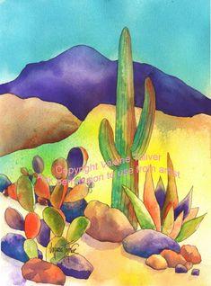 Golden Light of the Desert by Valerie Toliver