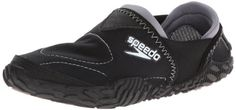Cool Speedo Women's Offshore Amphibious Pull-On Water Shoe,Black,9 M US