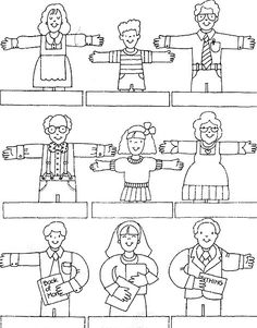 Testimonies of Others Can Strengthen Mine: ... Color the finger puppets to resemble some of the people who have helped your testimony grow. Write their names below the drawing. Cut the puppets out, and tape the ends of each name strip together to form a circle. Place puppets on your fingers and tell who each one represents and how that person strengthened your testimony.