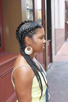Boss Braids on Pinterest | Goddess Braids, African American Braids and ...