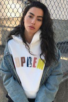 Adrianne Ho - Poses outside